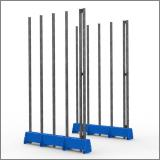 FGL slab rack - FGL heavy duty  bundle an universal rack for glass, panels, elemente and metall sheets , FGL-KI-5002-EC , FGL Glas- und Kistenigel als Universal-Lagersystem - www.lager-und-transporttechnik.info
